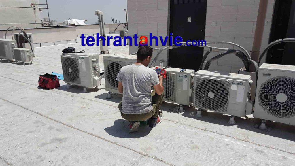 سرویسکار کولر گازی شرق تهران